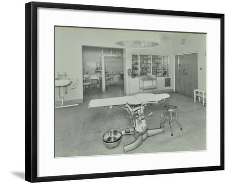 Operating Theatre, Lewisham Hospital, London, 1936--Framed Art Print