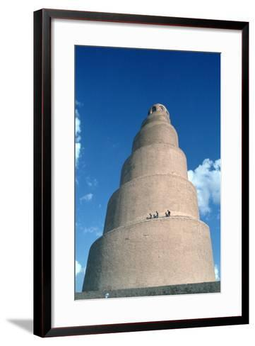 Minaret of the Great Mosque, Samarra, Iraq, 1977-Vivienne Sharp-Framed Art Print