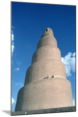 Minaret of the Great Mosque, Samarra, Iraq, 1977-Vivienne Sharp-Mounted Photographic Print