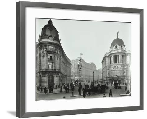 The Gaiety Theatre, Aldwych, London, 1909--Framed Art Print