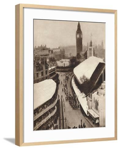 Nearing the Abbey, 1937--Framed Art Print