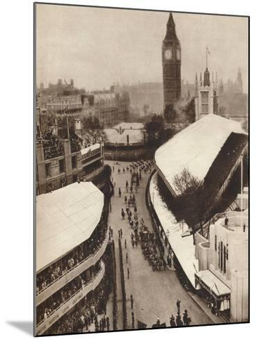 Nearing the Abbey, 1937--Mounted Photographic Print