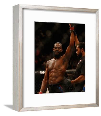 UFC 197: Jones v Saint Preux-Christian Petersen/Zuffa LLC-Framed Art Print