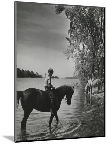 Vogue - September 1943-Serge Balkin-Mounted Premium Photographic Print