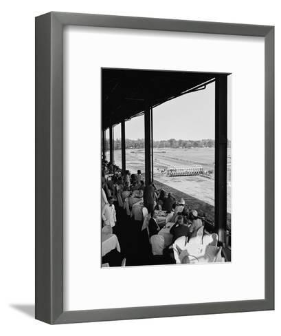 Vogue - August 1941-John Swope-Framed Art Print