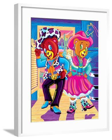 Hollywood and Beverly '96-Lisa Frank-Framed Art Print
