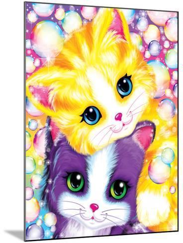 Kitten Cuddles-Lisa Frank-Mounted Art Print