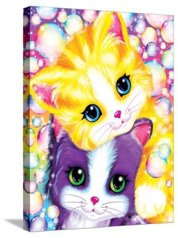 Kitten Cuddles-Lisa Frank-Stretched Canvas Print