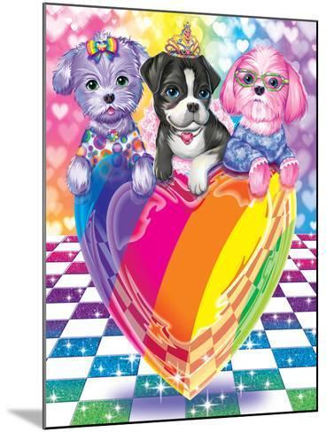 Puppy Love-Lisa Frank-Mounted Art Print
