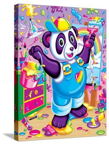 Panda Painter '93-Lisa Frank-Stretched Canvas Print