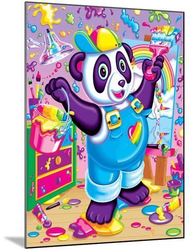 Panda Painter '93-Lisa Frank-Mounted Art Print