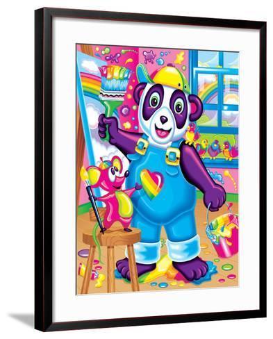 Painter and Doodles '97-Lisa Frank-Framed Art Print