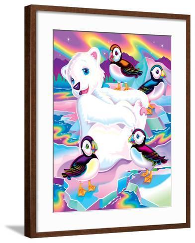 Roary '96-Lisa Frank-Framed Art Print
