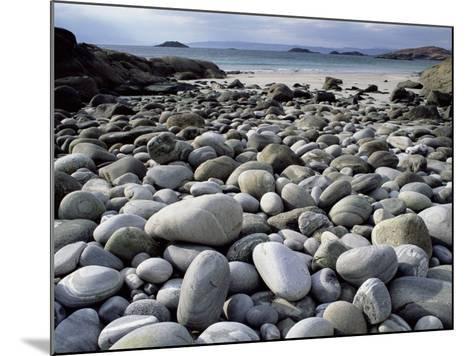Stony Beach on Knoydart Peninsula, Western Scotland-Pete Cairns-Mounted Photographic Print