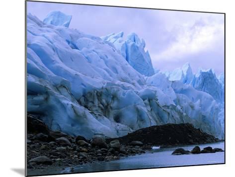 Perito Moreno Glacier and Terminal Moraine, Los Glaciares National Park, Argentina-Pete Oxford-Mounted Photographic Print