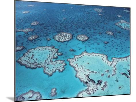Aerial View of Great Barrier Reef, Queensland, Australia-Jurgen Freund-Mounted Photographic Print