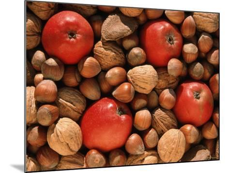 Apple, and Nut Harvest, Autumn Fruits-De Cuveland-Mounted Photographic Print
