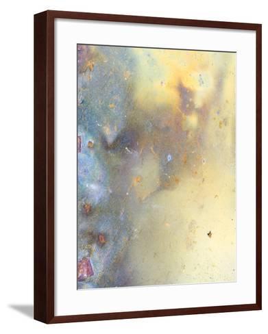 Close Up of Slate, Easdale, Scotland, UK-Niall Benvie-Framed Art Print