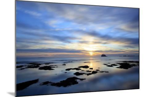 Bass Rock at Dawn, North Berwick, Scotland, UK, August. 2020Vision Book Plate-Peter Cairns-Mounted Photographic Print