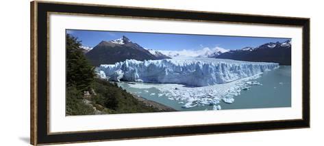 Perito Moreno Glacier, Panoramic View, Argentina, January 2010-Mark Taylor-Framed Art Print