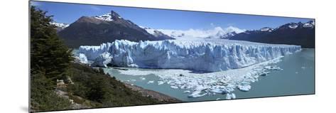 Perito Moreno Glacier, Panoramic View, Argentina, January 2010-Mark Taylor-Mounted Photographic Print