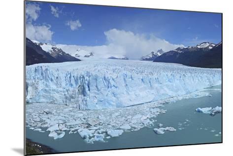 Perito Moreno Glacier, Panoramic View, Argentina, South America, January 2010-Mark Taylor-Mounted Photographic Print