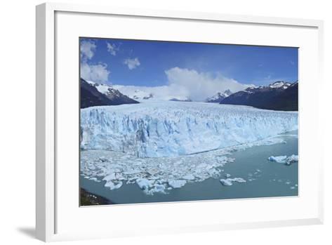 Perito Moreno Glacier, Panoramic View, Argentina, South America, January 2010-Mark Taylor-Framed Art Print