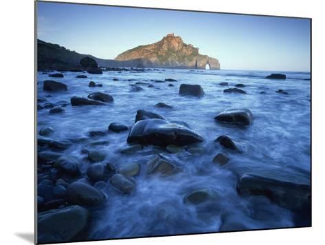 Landscape Gaztelugatxe Coast, Basque Country, Bay of Biscay, Spain, October 2008-Popp-Hackner-Mounted Photographic Print