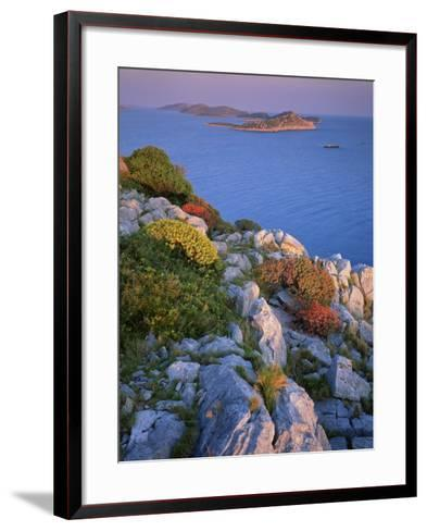 Coastal Landscape, Kornati National Park, Mana Island, Croatia, May 2009 Wwe Book-Popp-Hackner-Framed Art Print