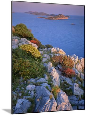 Coastal Landscape, Kornati National Park, Mana Island, Croatia, May 2009 Wwe Book-Popp-Hackner-Mounted Photographic Print