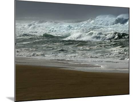 High Winds, Sunset Beach, Hawaii-Lucy Pemoni-Mounted Photographic Print
