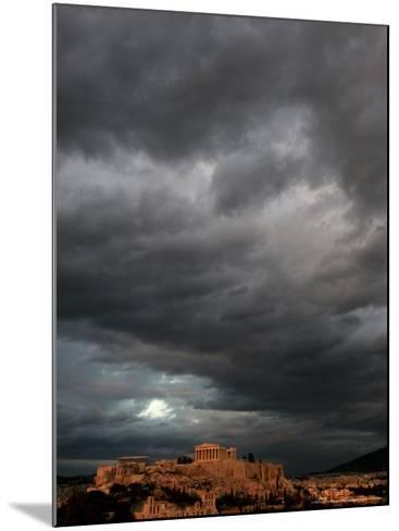 The Acropolis, Athens, Greece-Petros Giannakouris-Mounted Photographic Print