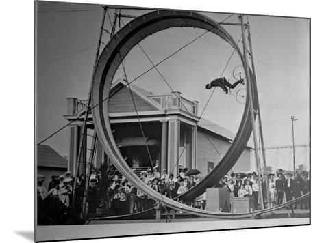 Loop The Loop, New York, New York-Charles Kenneth Lucas-Mounted Photographic Print