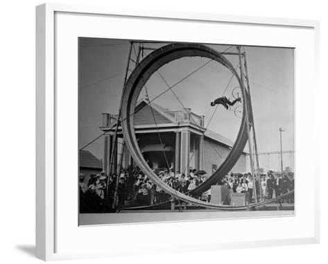 Loop The Loop, New York, New York-Charles Kenneth Lucas-Framed Art Print