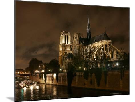 Notre Dame, Paris, France-Remy De La Mauviniere-Mounted Photographic Print
