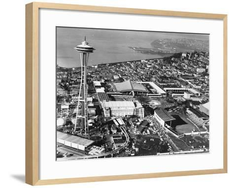 This is a Photo of Seattle During the World's Fair--Framed Art Print