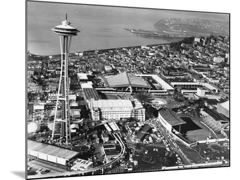 This is a Photo of Seattle During the World's Fair--Mounted Photographic Print