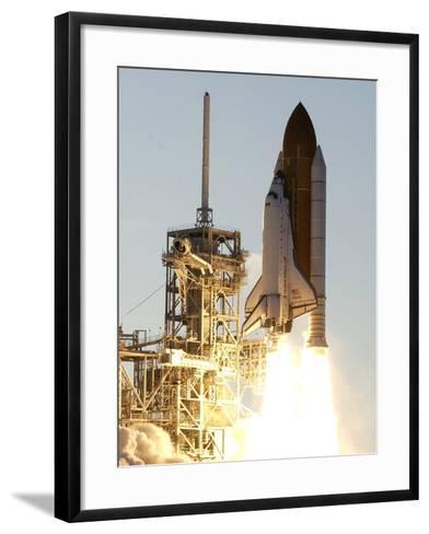 APTOPIX Space Shuttle-Terry Renna-Framed Art Print
