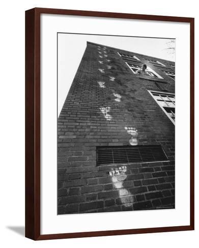 Keeping Track, Salem, Oregon, c.1967--Framed Art Print