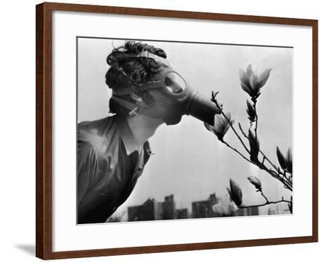 Earth Day, New York, New York, c.1970--Framed Art Print