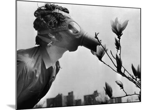 Earth Day, New York, New York, c.1970--Mounted Photographic Print
