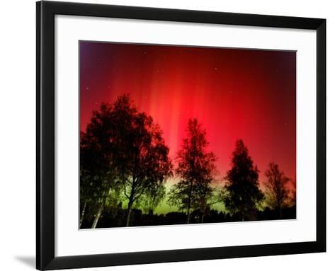 Northern Lights Glow--Framed Art Print