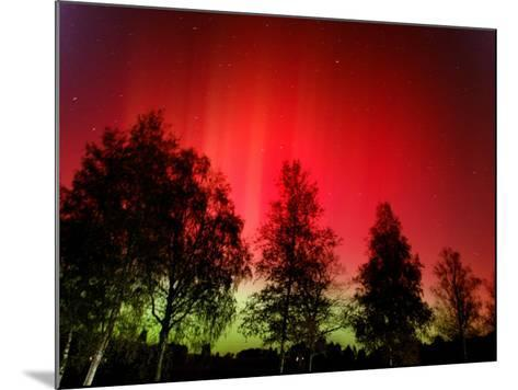 Northern Lights Glow--Mounted Photographic Print