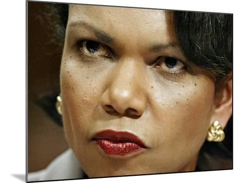 National Security Adviser Condoleezza Rice Testifies--Mounted Photographic Print