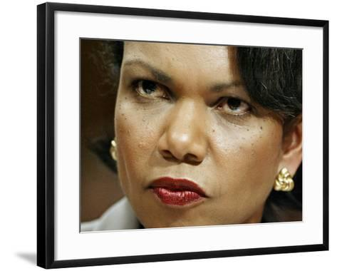 National Security Adviser Condoleezza Rice Testifies--Framed Art Print