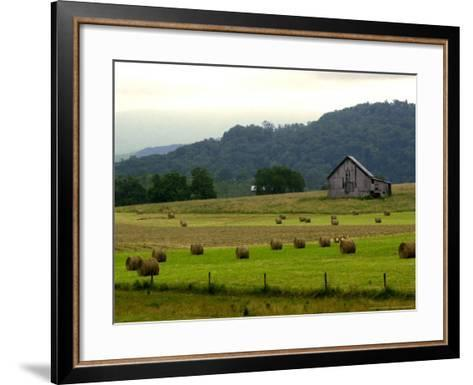 Landscapes Along the Farm Heritage Road-Jon C. Hancock-Framed Art Print