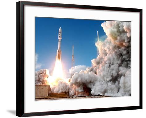 Pluto Mission-Terry Renna-Framed Art Print