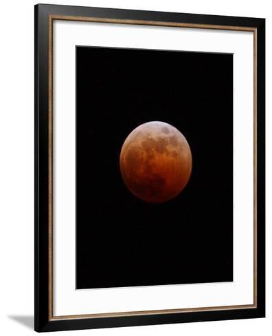 Lunar Eclipse-Alan Diaz-Framed Art Print