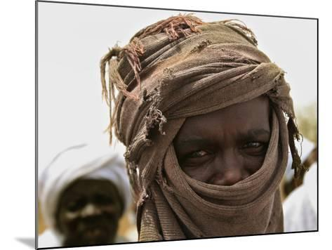 A Sudan Liberation Army, Sla, Fighter from the Faction of Abdelwahid Elnur--Mounted Photographic Print