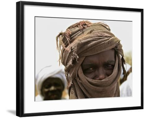 A Sudan Liberation Army, Sla, Fighter from the Faction of Abdelwahid Elnur--Framed Art Print